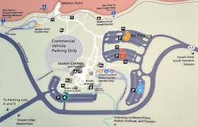 grand map lodging parking south grand national park u s national