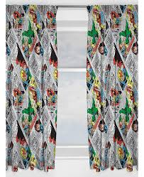 Retro Curtains Marvel Comics Retro Curtains