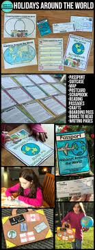 holidays around the world unit for clutter free classroom