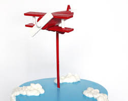 airplane cake topper airplane cake topper etsy