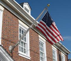American Flag Wall Hanging Flagpole Installation Commercial Flag Poles Flag Pole Repairs