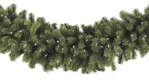 artificial garland sequoia fir commercial unlit