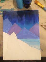 Shades Of Blue Paint by How To Paint Frozen Maureen Marks Art