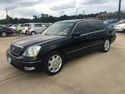 2005 lexus ls430 gas mileage 2001 used lexus ls 430 4dr sedan at car guys serving houston tx