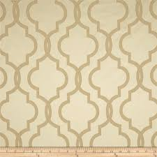 rockland quatrefoil satin jacquard beige from fabricdotcom