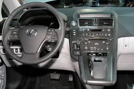 car lexus 2010 lexus hs 250h 2010 live in detroit auto show 2009 interior img 6