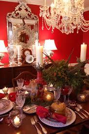 inspiratie voor een klassieke tafel met kerst roomed mooie