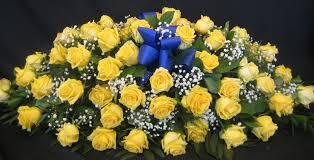 how to make a casket spray yellow casket spray c12