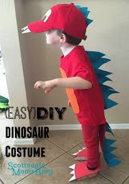 Dinosaur Costume Christmas Decoration by Tutorial On How To Make An Easy And Adorable Dinosaur Costume For