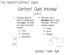 top secret context clues fun and giveaway