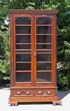 victorian bookcase ebay