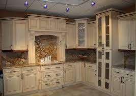 cream kitchen cabinets with glaze white antiqued kitchen cabinets with best 25 glazed ideas on