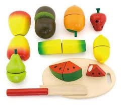 play food cutting velcro fruit box at my wooden toys