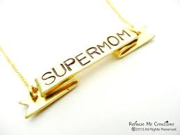 necklaces for mothers day supermom sted banner necklace mothers day gift personalized
