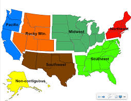 The United States Midwest Region Map by The Fifty Nifty United States Miss Dean U0027s World