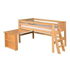 Short Loft Bed Bunk Beds U0026 Loft Beds With Desks Wayfair