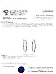 Bjs Patio Dining Set - 25 ct t w diamond hoop earrings in 14k white gold bj u0027s