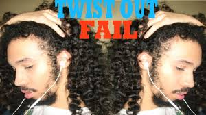 3a Curly Hair Extensions by Twist Out Fail Men With 3b Hair Type Youtube