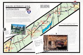 Route 66 Map by Fantastic Caverns America U0027s Only Ride Thru Cave Springfield