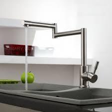 Pot Filler Kitchen Faucet Deck Mount Retractable Pot Filler Kitchen Faucet Double Handle In