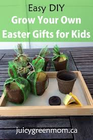 easter gifts for children easy diy grow your own easter gifts for kids