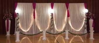fabric backdrop wedding backdrops backgrounds decorations columns