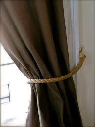 Rope Curtain Tie Back Decorating Outdoor Curtain Tie Backs Outdoor Curtain Tie Backs