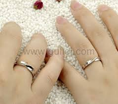 couples rings set images Knot 925 sterling silver promise best couple rings set jpg
