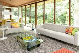 Sunroom Sofa Good Looking Shag Rugin Living Room Modern With Exquisite Family