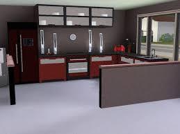 cuisine sims 3 cuisine moderne sims 3 idées de design maison et idées de meubles