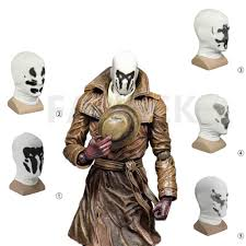 watchmen rorschach mask hood white mask movie ver balaclava cosplay