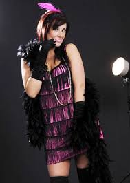 plus size pink 1920s fancy dress flapper costume plus size pink