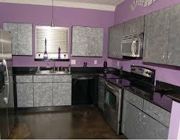 purple kitchen decorating ideas black countertop and purple wall decor for kitchen ideas kitchen