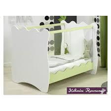 chambre roumanoff lit doudou anis 2 côtés plexiglas sofamo made in vendu