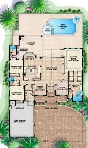mediterranean style house plan 4 beds 3 00 baths 2855 sq ft plan