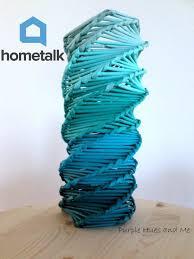 Challenge Vase Logo Inspired Recycle Newspaper Vase A Hometalk Challenge Hometalk