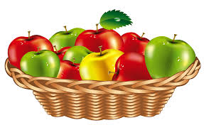 basket of fruit fruit basket clipart clipartbarn