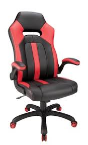 Realspace High Back Gaming Chair RedBlack by Office Depot  OfficeMax