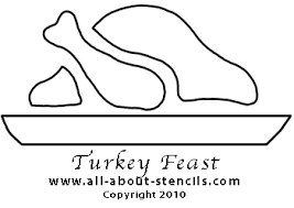 thanksgiving crafts and free stencils to print