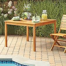 Acacia Wood Outdoor Furniture by Westerly Acacia Wood Outdoor Dining Table Bed Bath U0026 Beyond