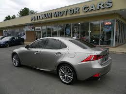 lexus platinum extended warranty 2014 lexus is 250 awd 4dr sedan in warrenton va platinum motorcars