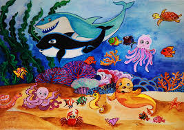 ocean animals lesson plan worksheets coloring pages crafts and