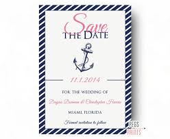 nautical save the date nautical save the date printable nautical wedding announcement