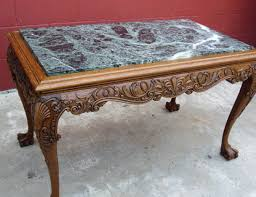 antique marble coffee table marble top coffee table and end tables home design ideas