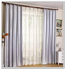 Curtains To Cover Sliding Glass Door Grommet Curtains For Sliding Glass Doors Door Curtain Plan 17