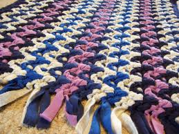 Rag Rug Directions How To Crochet A Rag Rug Step By Step Roselawnlutheran