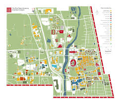 Ohio University Map by La Vida Lincoln First Things First