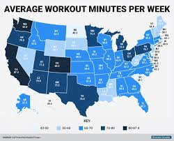World Time Map Mapmyfitness Workout Time Map Business Insider