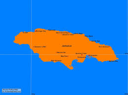 Blank Outline Map Of Jamaica by Jamaica Outline Map Page 34 Of 77 A Learning Family
