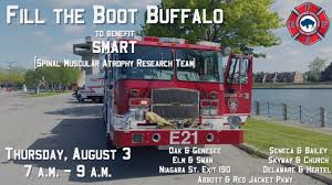 Firefighter Station Boots Canada buffalo firefighters ask public to fill the boot to help find a